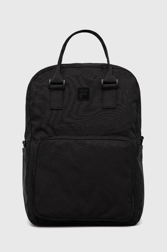 czarny Fila - Plecak Unisex