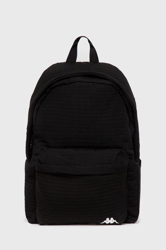 czarny Kappa - Plecak Unisex