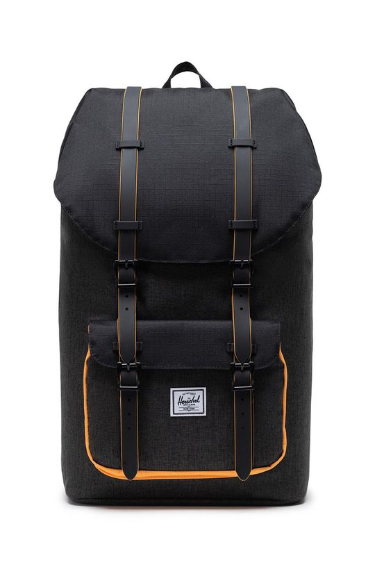 czarny Herschel - Plecak Unisex