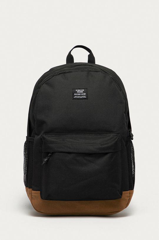 czarny Dc - Plecak Unisex