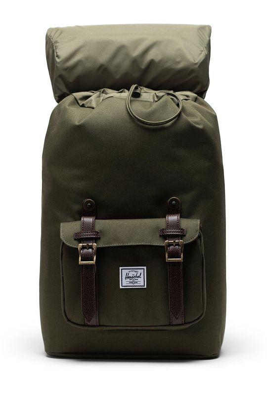 Herschel - Plecak ciemny zielony