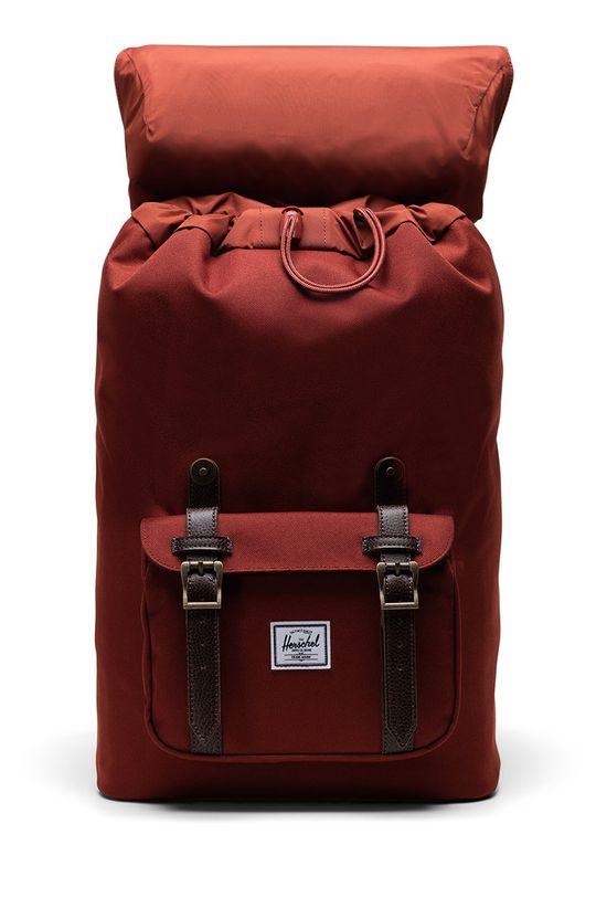 Herschel - Plecak ostry czerwony