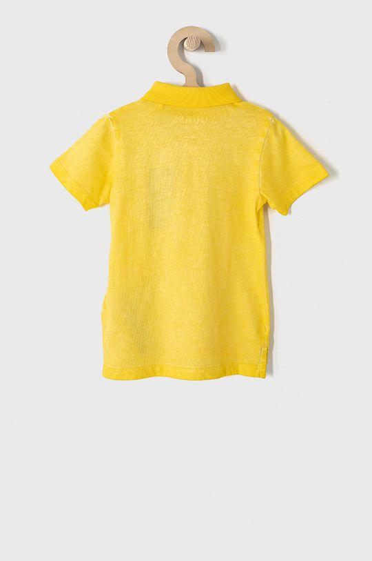 Guess - Detské polo tričko 92-122 cm žltá