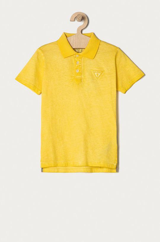 żółty Guess - Polo dziecięce 116-175 cm Chłopięcy