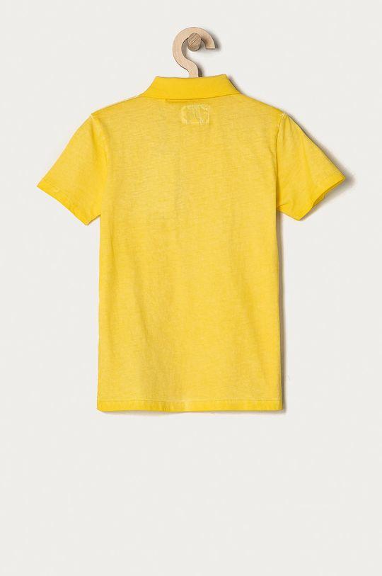 Guess - Polo dziecięce 116-175 cm żółty