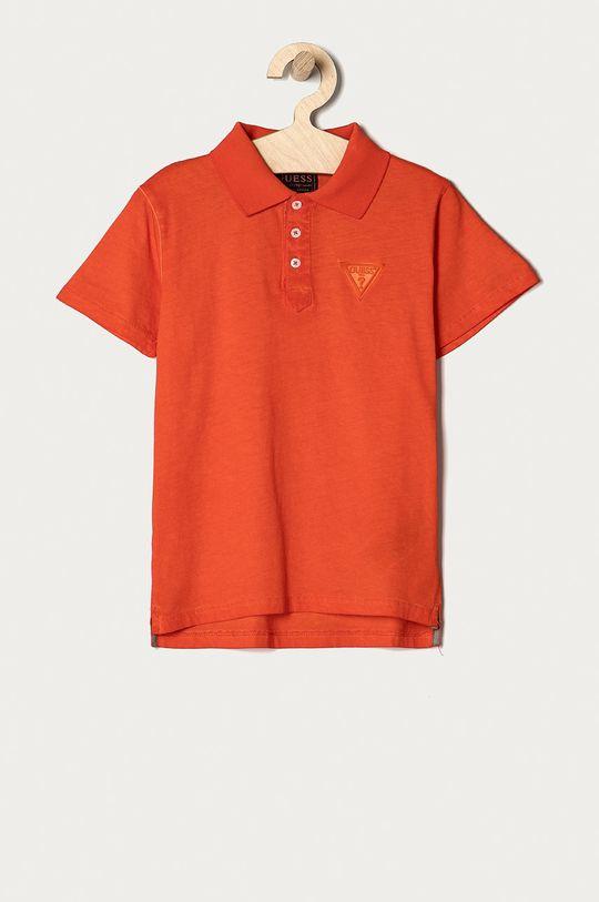 pomarańczowy Guess - Polo dziecięce 116-175 cm Chłopięcy