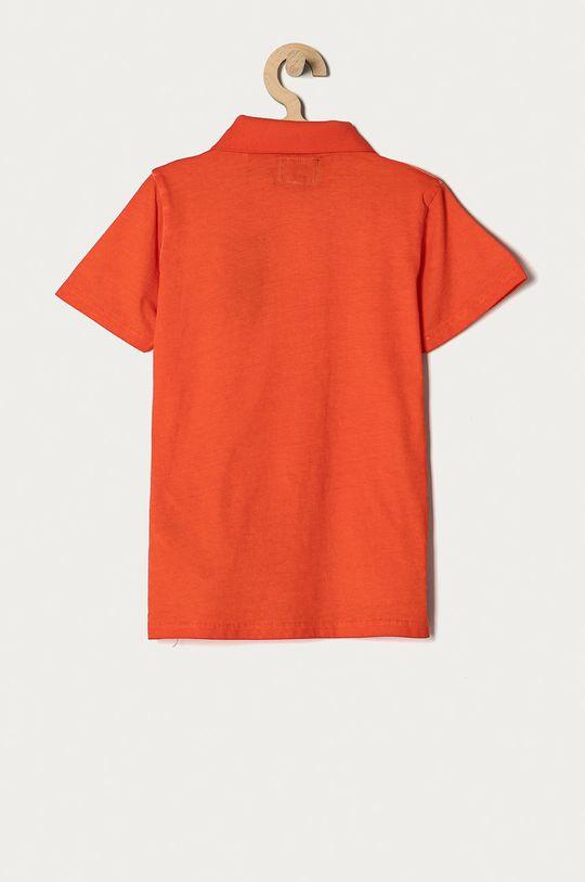 Guess - Polo dziecięce 116-175 cm pomarańczowy