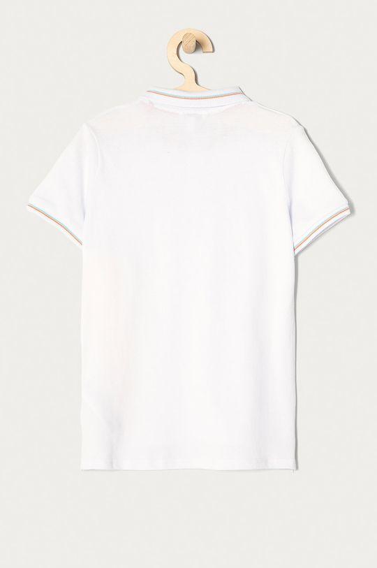 Guess - Polo dziecięce 116-175 cm biały