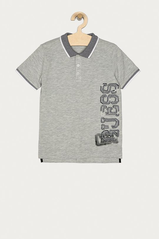 szary Guess - Polo dziecięce 116-175 cm Chłopięcy