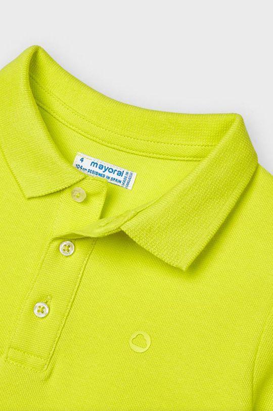žltá Mayoral - Detské polo tričko