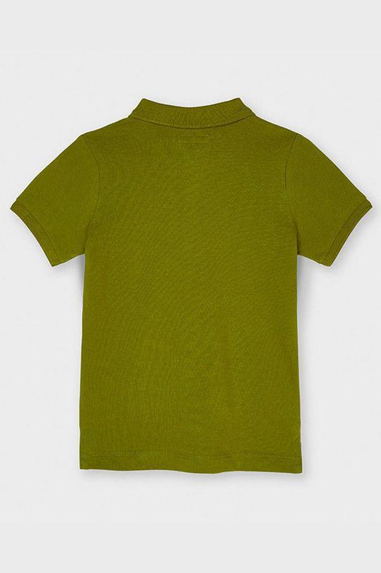Mayoral - Detské polo tričko olivová