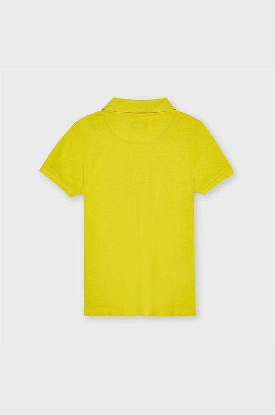 Mayoral - Detské polo tričko žltá