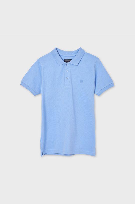 Mayoral - Detské polo tričko svetlomodrá