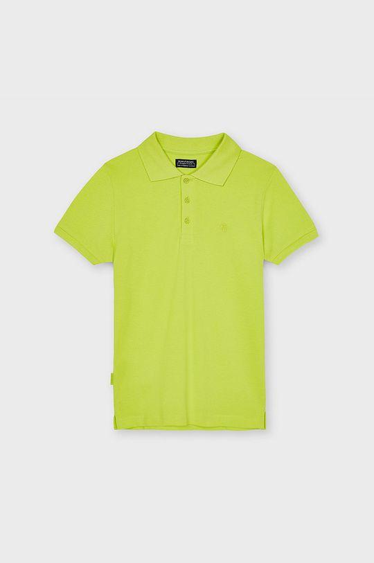 galben – verde Mayoral - Tricou polo copii De băieți