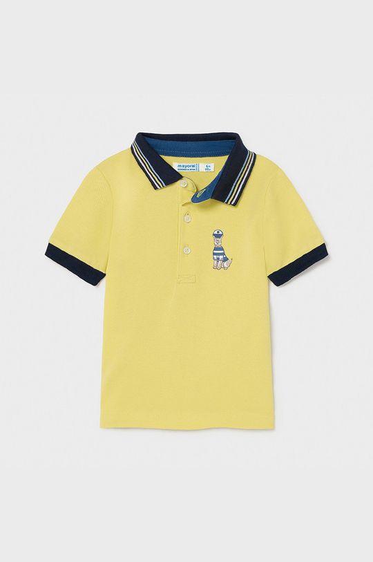 horčicová Mayoral - Detské polo tričko Chlapčenský