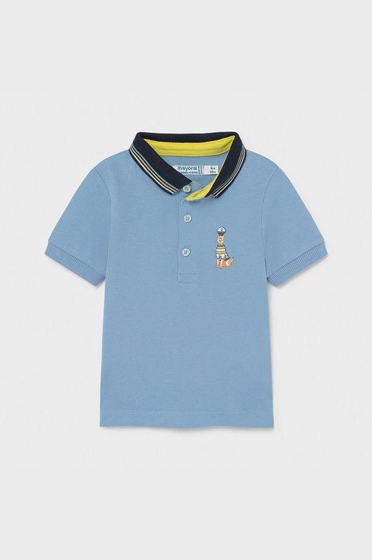 svetlomodrá Mayoral - Detské polo tričko Chlapčenský