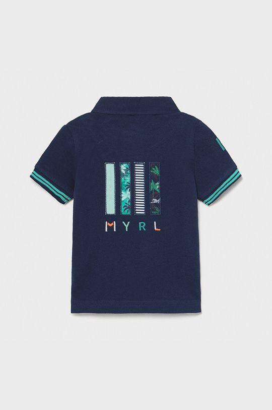 Mayoral - Detské polo tričko tmavomodrá