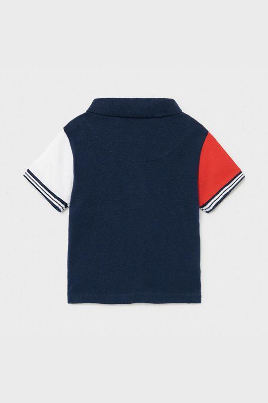 Mayoral - Detské polo tričko sýtočervená