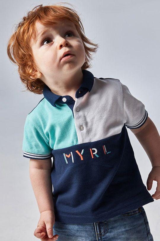 svetlá tyrkysová Mayoral - Detské polo tričko Chlapčenský