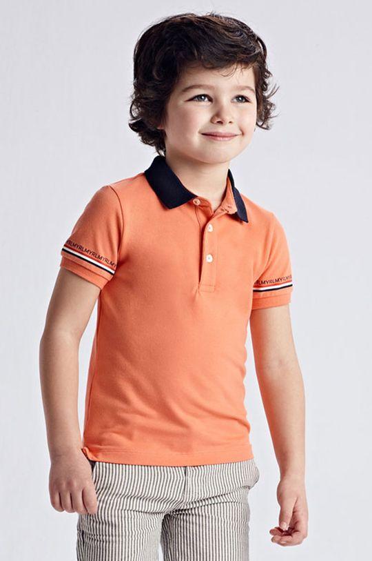 koralová Mayoral - Detské polo tričko Chlapčenský