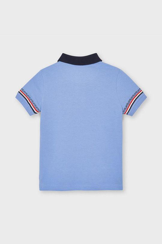 Mayoral - Tricou polo copii albastru deschis