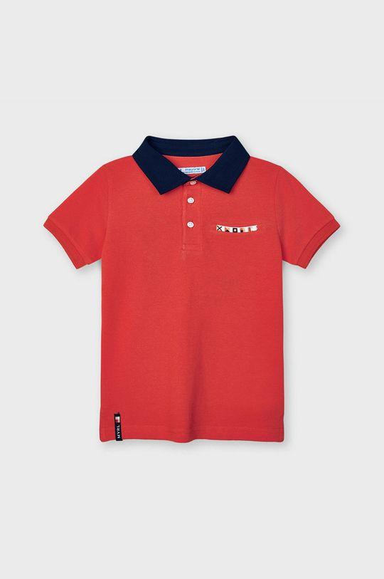 červená Mayoral - Detské polo tričko Chlapčenský