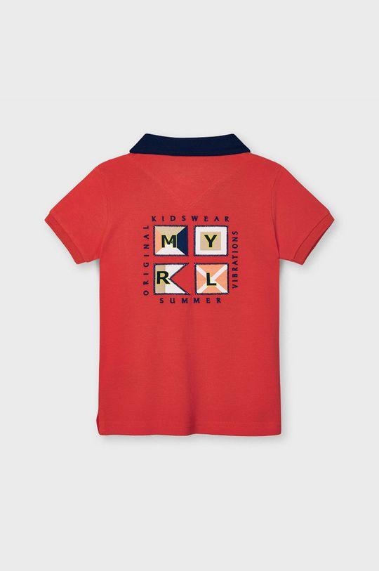 Mayoral - Detské polo tričko červená