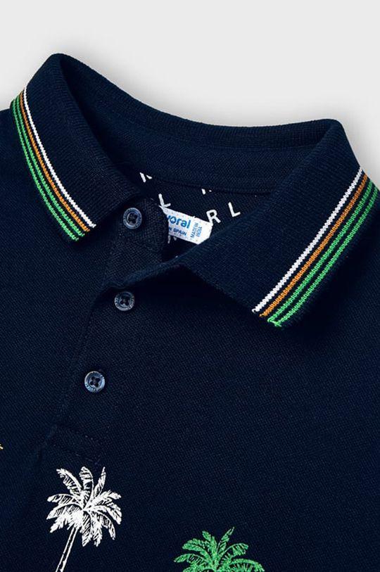 tmavomodrá Mayoral - Detské polo tričko