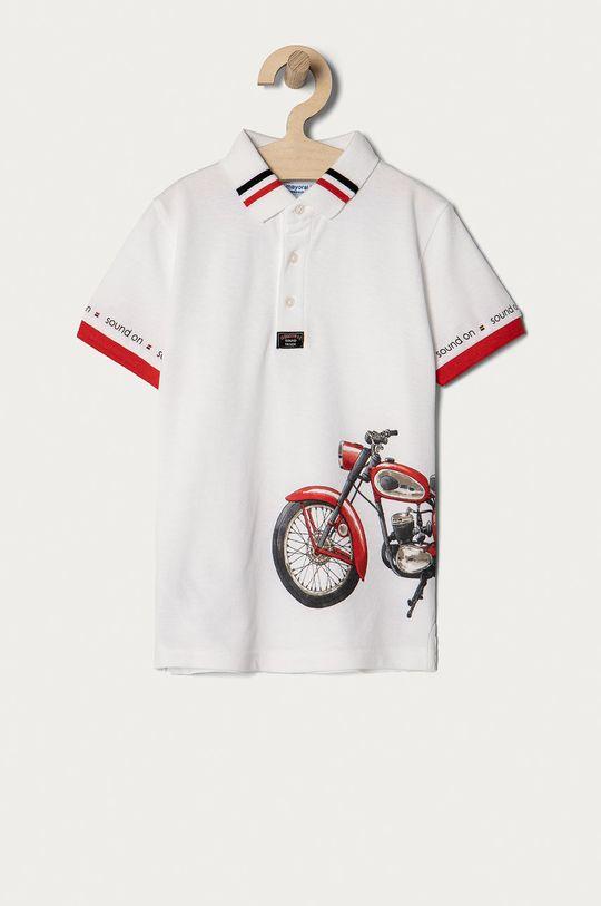 alb Mayoral - Tricou polo copii De băieți