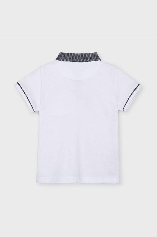 Mayoral - Tricou polo copii alb