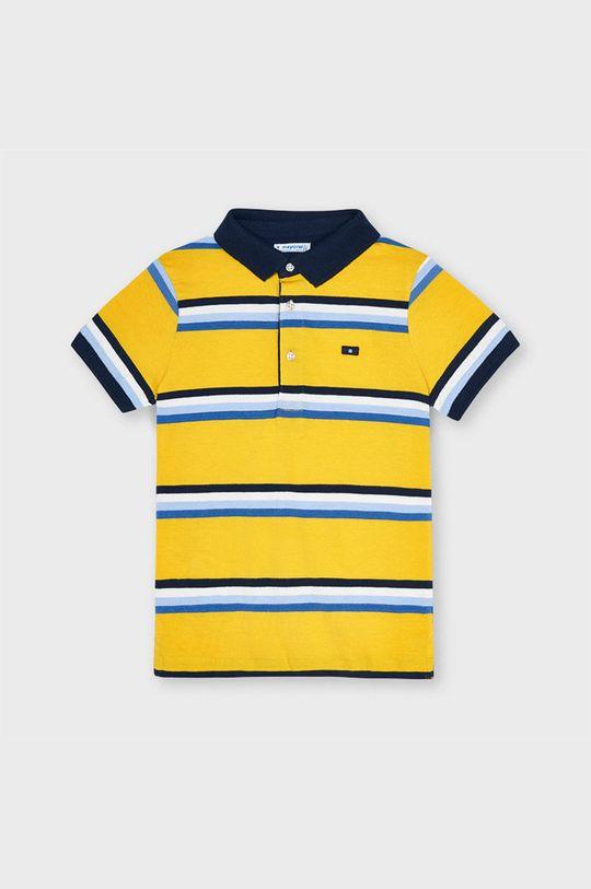 svetlo oranžová Mayoral - Detské polo tričko Chlapčenský