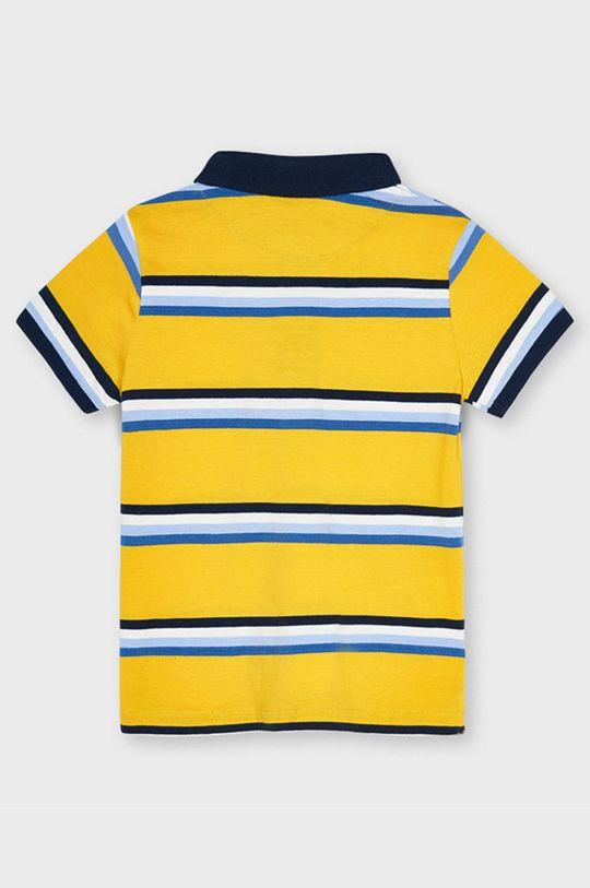 Mayoral - Detské polo tričko svetlo oranžová