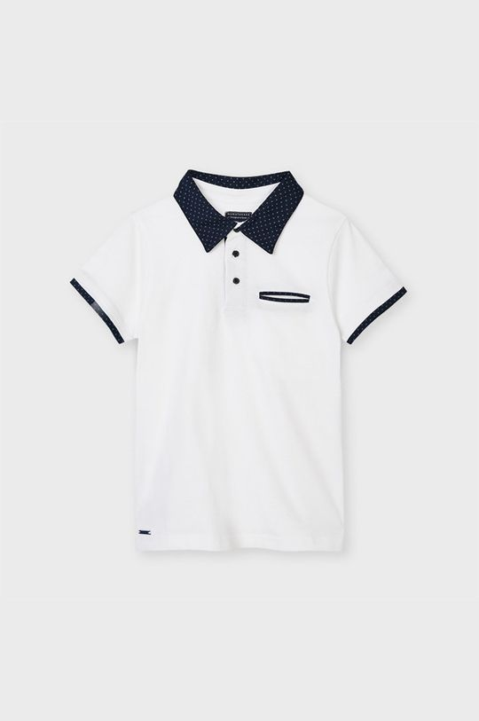 biela Mayoral - Detské polo tričko Chlapčenský