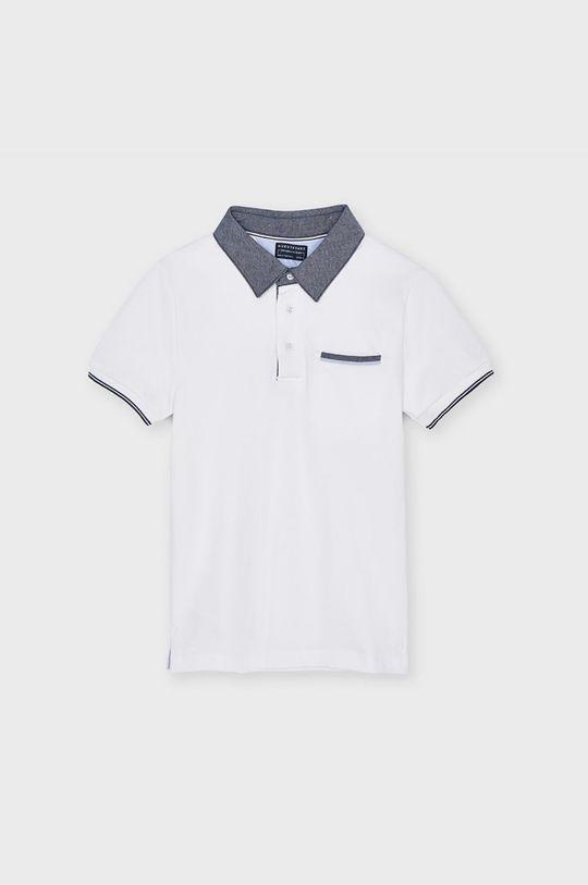 biela Mayoral - Detské polo tričko 128-172 cm Chlapčenský