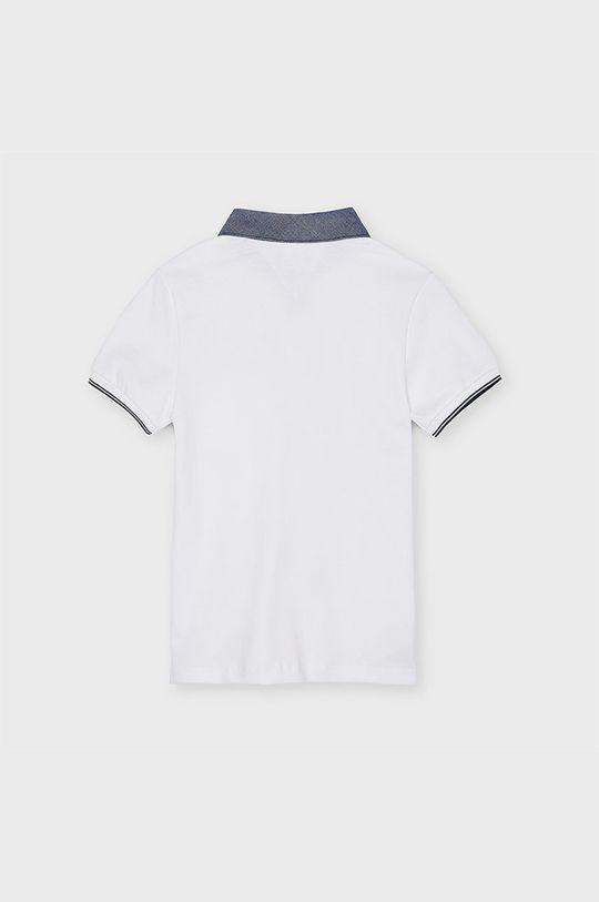 Mayoral - Detské polo tričko 128-172 cm biela