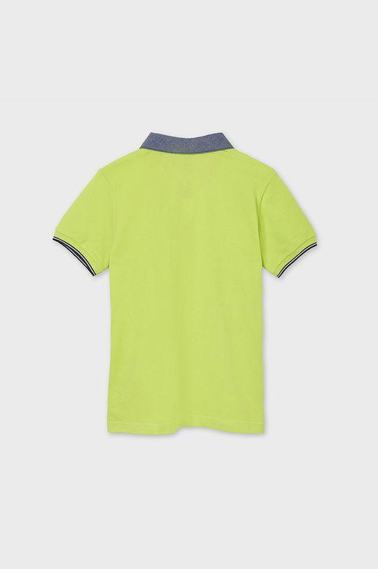 žlto-zelená Mayoral - Detské polo tričko 128-172 cm