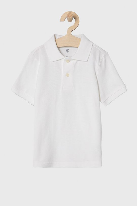 biela GAP - Detské polo tričko 104-176 cm Chlapčenský