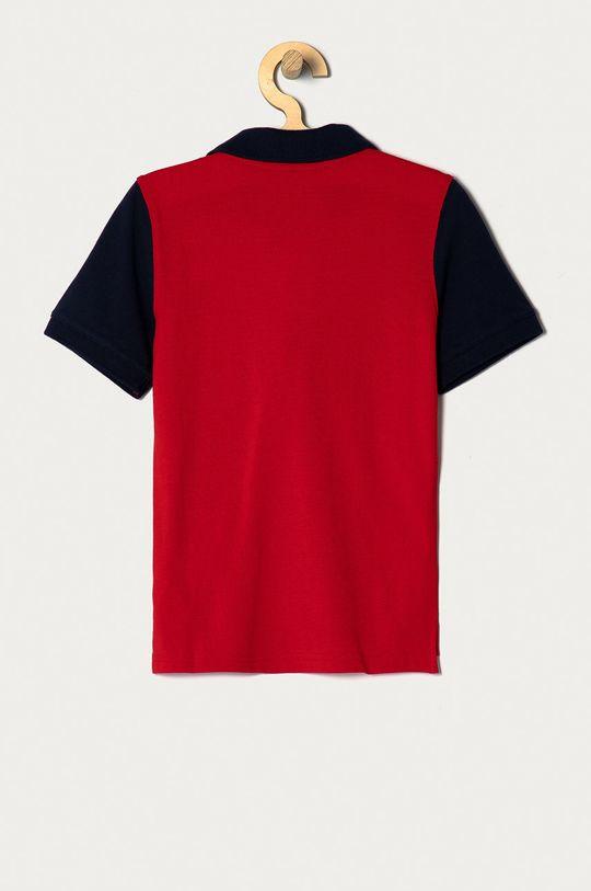 GAP - Polo dziecięce 104-176 cm ostry czerwony