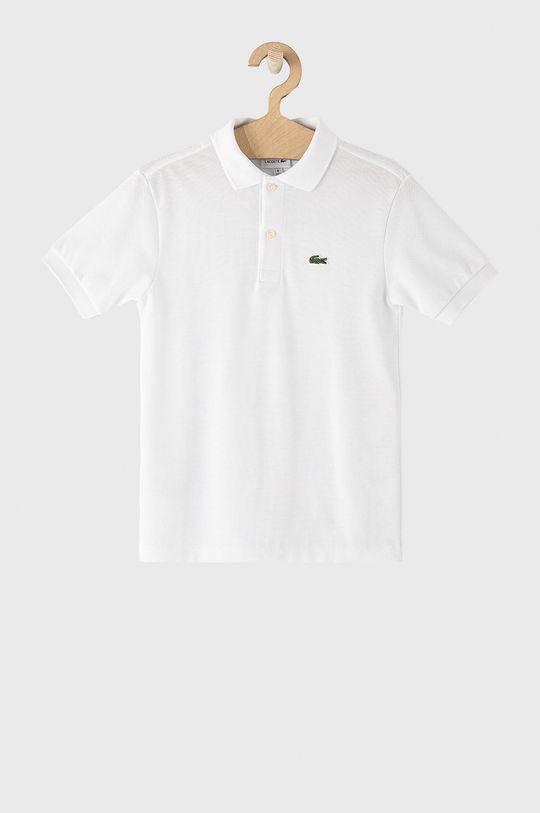 biela Lacoste - Detské polo tričko 104-176 cm Chlapčenský