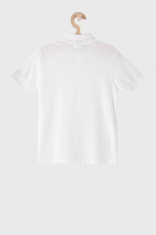 Lacoste - Detské polo tričko 104-176 cm biela