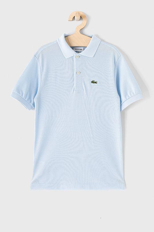 bledomodrá Lacoste - Detské polo tričko 104-176 cm Chlapčenský