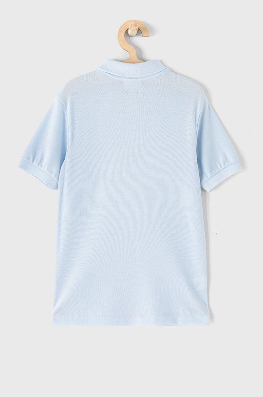 Lacoste - Detské polo tričko 104-176 cm bledomodrá