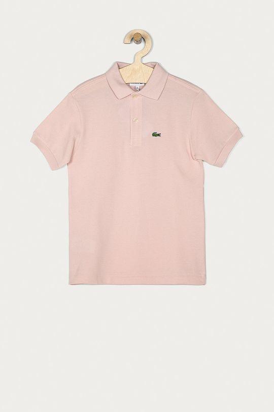 ružová Lacoste - Detské polo tričko 104-176 cm Chlapčenský