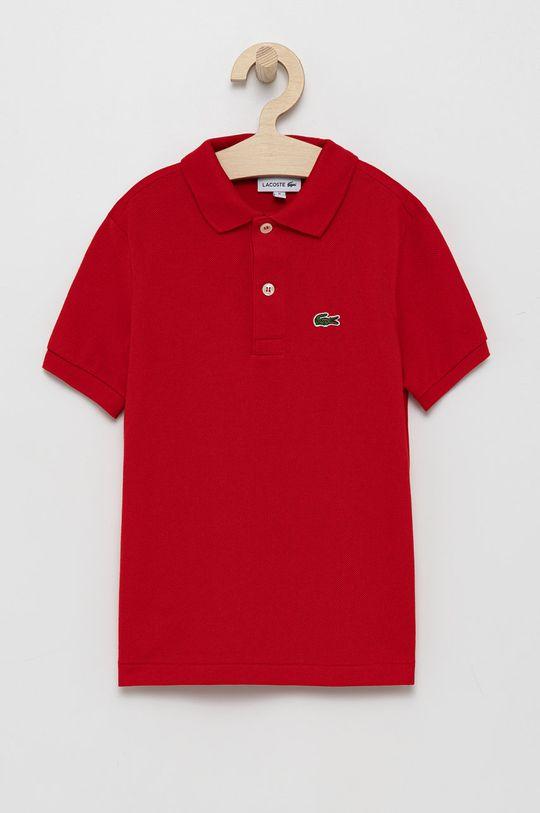 czerwony Lacoste - T-shirt/polo PJ2909 Chłopięcy