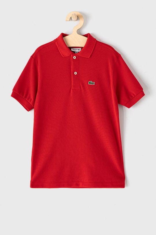 červená Lacoste - Detské polo tričko 104-176 cm Chlapčenský