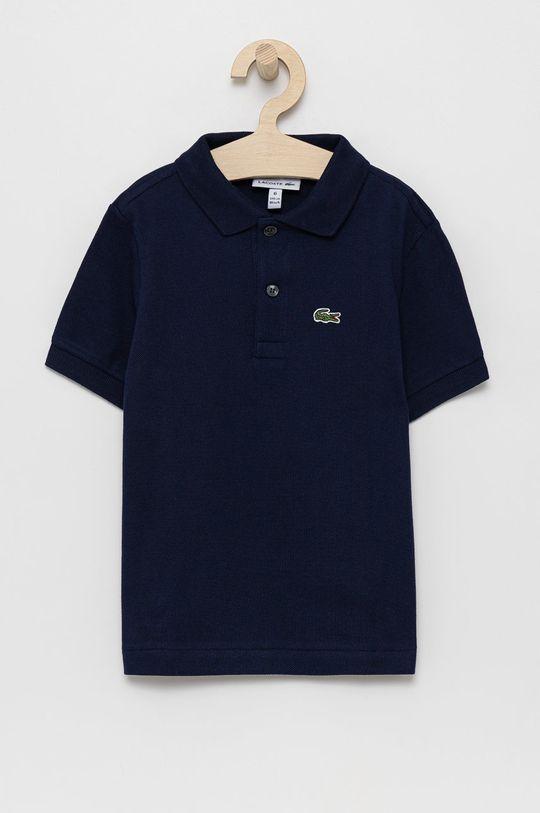granatowy Lacoste - T-shirt/polo PJ2909 Chłopięcy