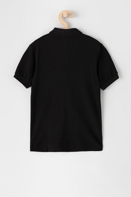Lacoste - Polo dziecięce 104-164 cm czarny