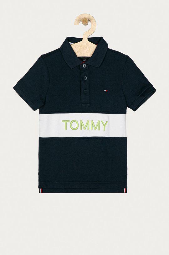 granatowy Tommy Hilfiger - Polo dziecięce 98-176 cm Chłopięcy