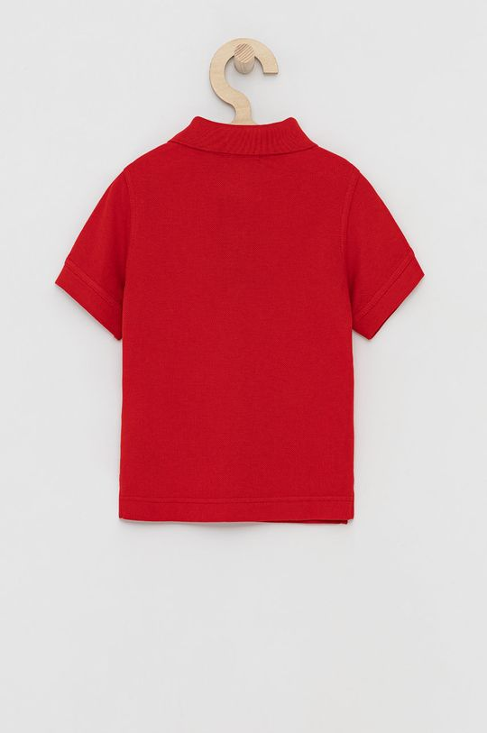 United Colors of Benetton - Dětské polo tričko červená