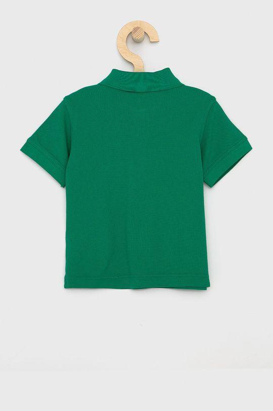 United Colors of Benetton - Dětské polo tričko zelená